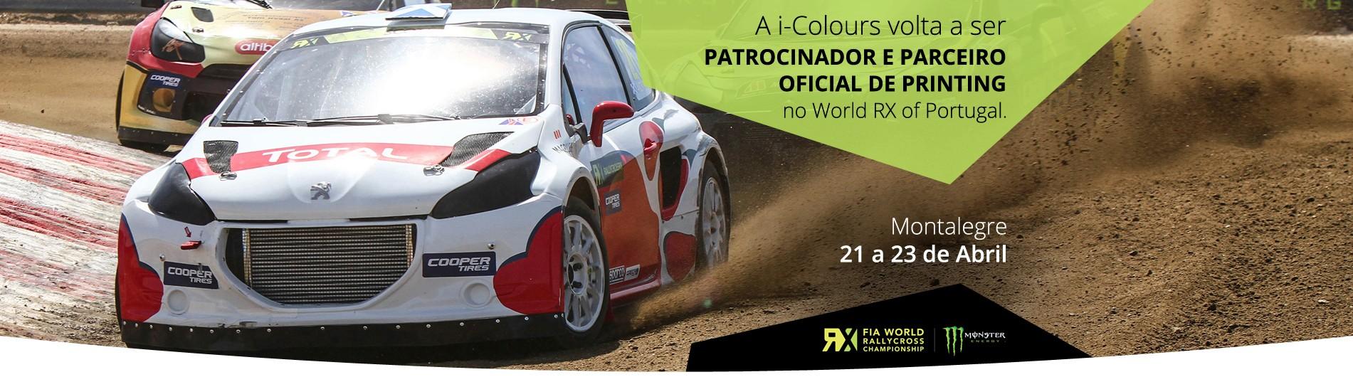 Patrocinador e Parceiro Oficial de Printing do Mundial de Rallycross